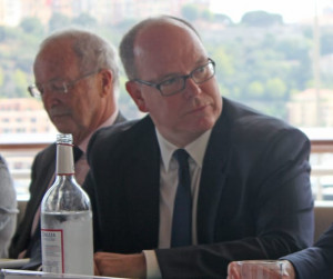 HSH Prince Albert II with HE Bernard Fautrier, CEO and Vice-President of the Prince Albert II of Monaco Foundation