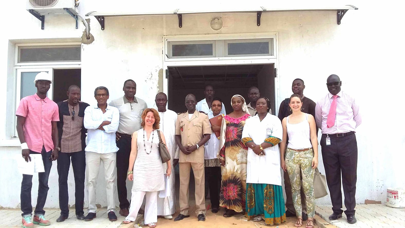Site visit to the paediatric unit SCD funded by the Government of Monaco in Dakar. Photo: ©DCI