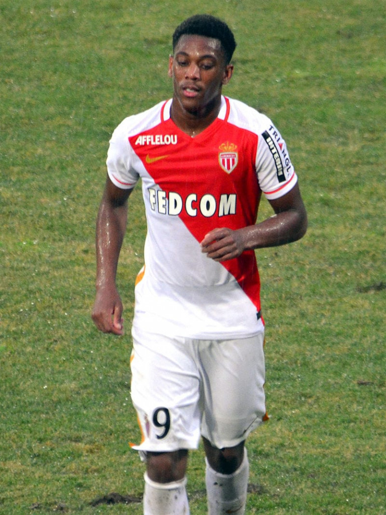 Former AS Monaco player, Anthony Joran Martial now plays as a forward for Manchester United Photo: Fuguito