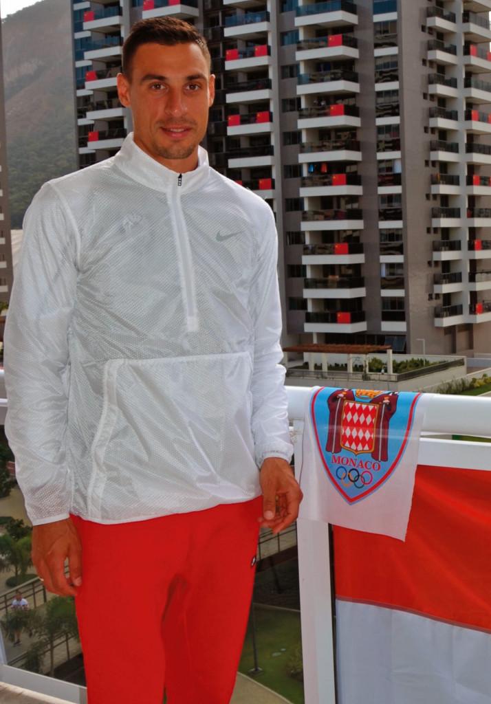 Brice Etes. Photo: Stéphan Maggi, Comité Olympique Monégasque