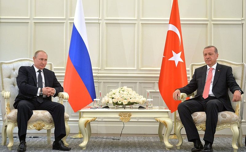 Russian President Vladimir Putin with Turkish President Recep Erdogan June 13, 2015. Photo: kremlin.ru