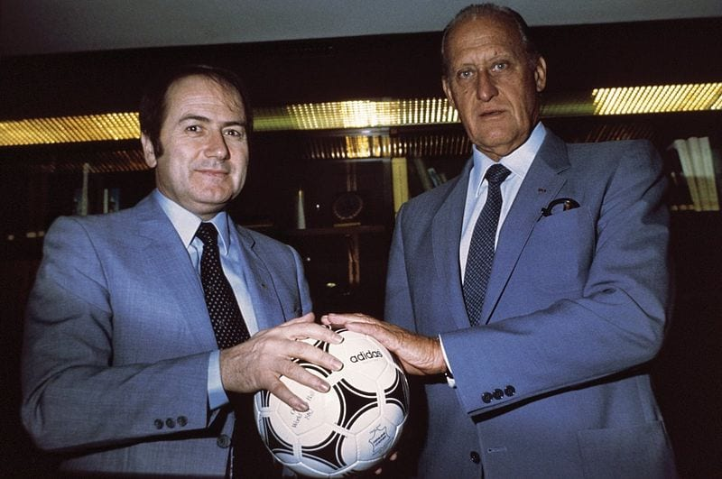 Sepp Blatter and Joao Havelange Photo: Nationaal Archief Fotocollectie Anefo