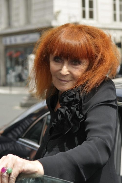 Sonia Rykiel at Jean Paul Gaultier fashion show in Paris in 2009. Photo: nicogenin
