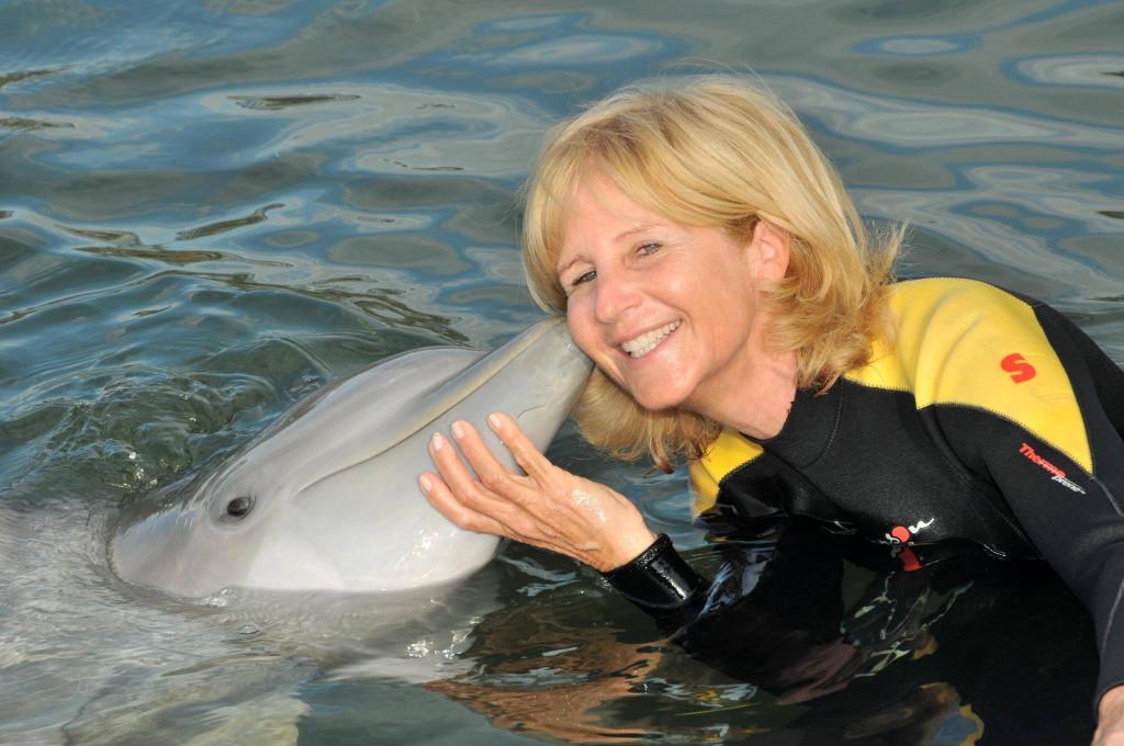 Helga Piaget, CEO of Monaco's Passion Sea. Photo Facebook Passion Sea