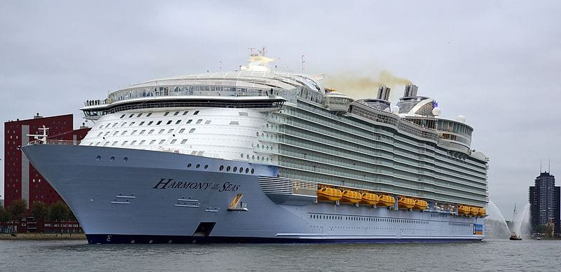 Harmony of the Seas. Photo: Kees Torn