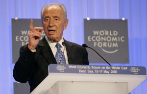Shemon Peres at the World Economic Forum on the Middle East 2009. Photo: World Economic Forum/Nader Daoud