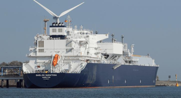Gaslog LNG tanker