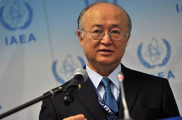 Yukiya Amano. Photo: Dean Calma/IAEA