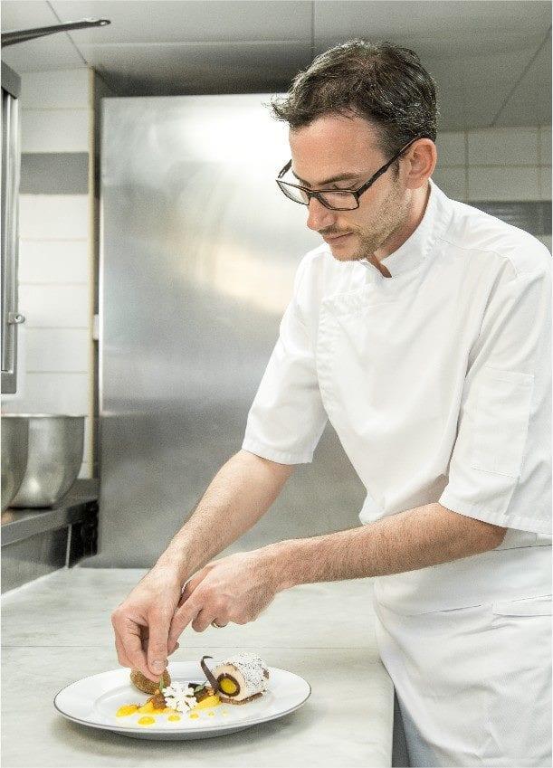 Cédric Desideri, pastry chef at Thermes Marins Monte-Carlo. Photo: Facebook ThermesMarinsMonteCarlo