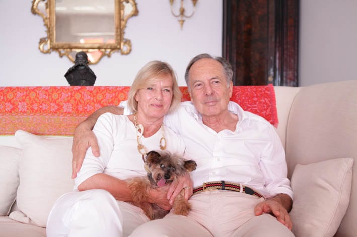 The Betts have been married for 41 years, have four children and are expecting their eighth grandchild any day.Still, it's clear that Max remains the centre of their world. Photo: Kaidi Photography