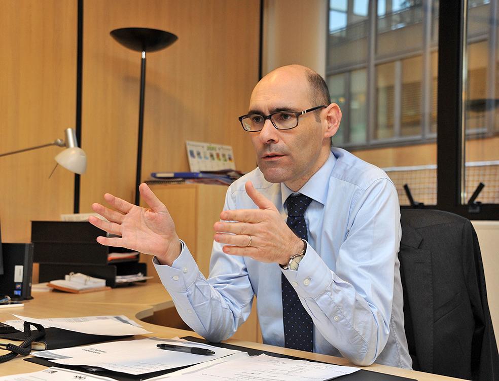 Lionel Galfré, Director of IMSEE, the Institut Monégasque de la Statistique et des Études Economiques