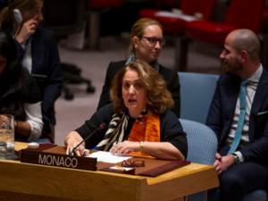 HE Ms Isabelle Picco, Ambassador, Permanent Representative of Monaco to the United Nations in 2015/ Photo: ©DR