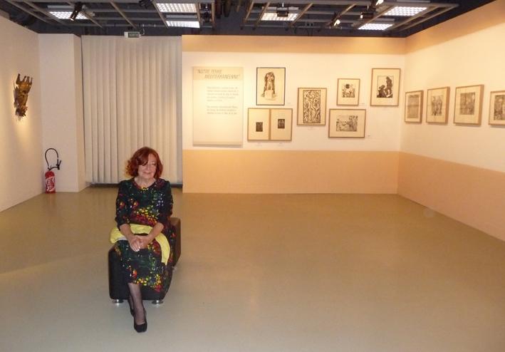 For Danièle Lorenzi-Scotto, painting a portrait takes a person's soul