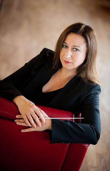Australian conductor Simone Young. Photo: Bertold Fabricius,