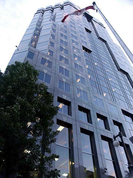 SNC-Lavalin engineering firm headquarters in Montreal. Photo: Gene.arboit