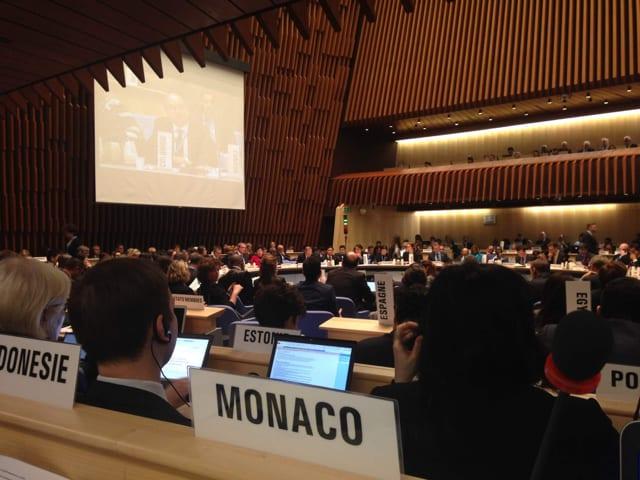 Monaco Conseil Executif OMS