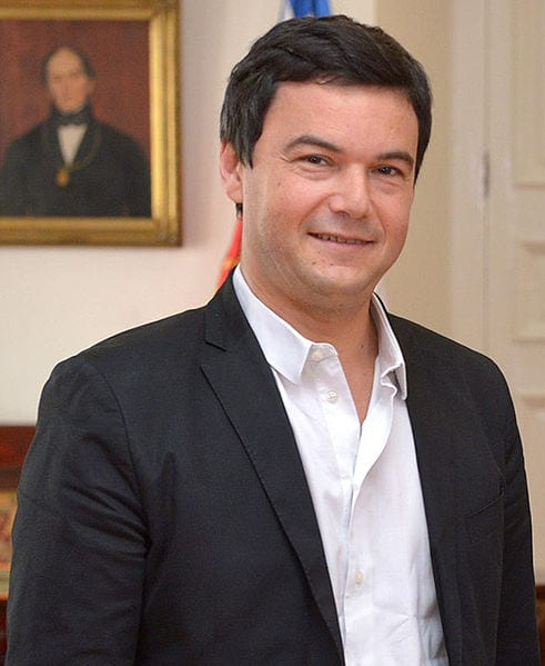 Thomas Piketty in 2015. Photo: Gobierno de Chile
