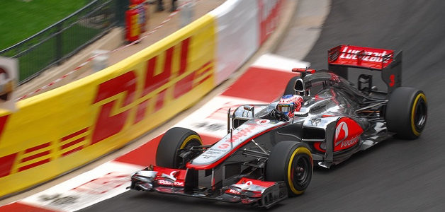 Jenson Button, McLaren MP4-27, Monaco Grand Prix 2012. Photo: Copyright Julien Reboulet