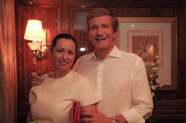 Daniela & Thierry Boutsen of Monaco's Boutsen Aviation Management