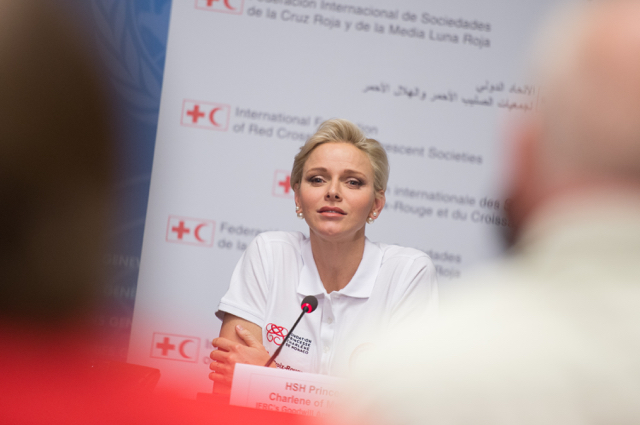 Princess Charlene personally chose 18 local Foundations and Associations for The Charity Mile this Saturday. Photo: palais.mc