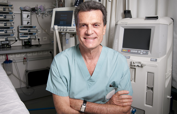 Professor Gilles Dreyfus, Medical Director of the Cardio-Thoracic Centre of Monaco. Photo: Gilles-Dreyfus.org