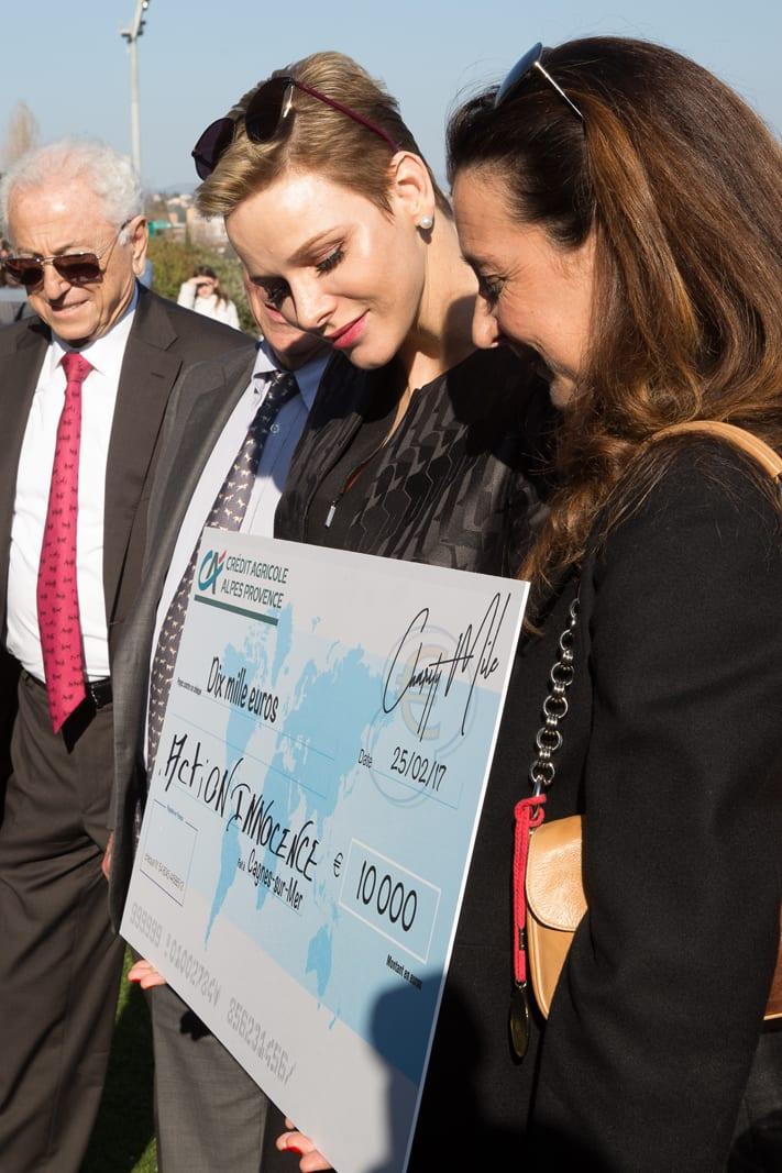 Action Innocence wins €10,000 for first place. Photo: Kasia Wandycz/Palais Princier