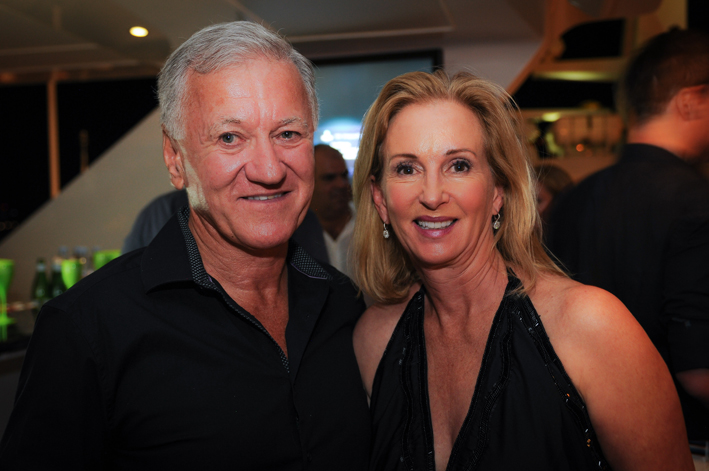 Kevin Tedeschi and Denise Markel