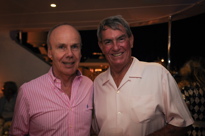 Nigel Stockdale with Gary Markel