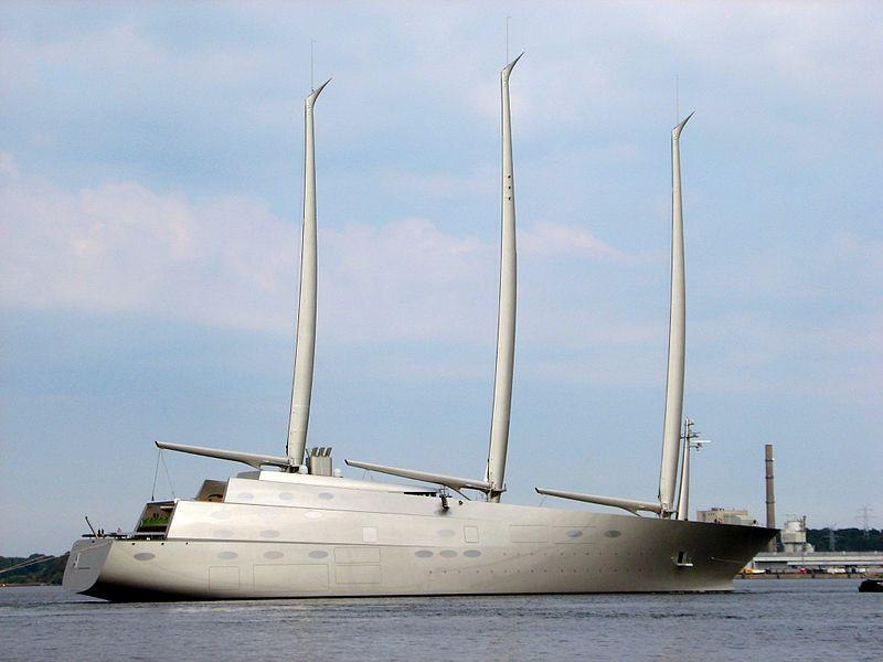Sailing Yacht A. Photo: Feliz