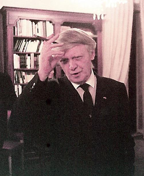 Anthony Burgess at the Inauguration of the Princess Grace Irish Library, November 20, 1984. Photo: pgil.mc