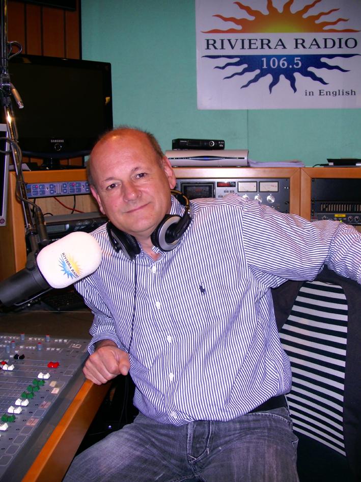 Broadcaster Mark Dezanni has lived in Seborga for 30 years