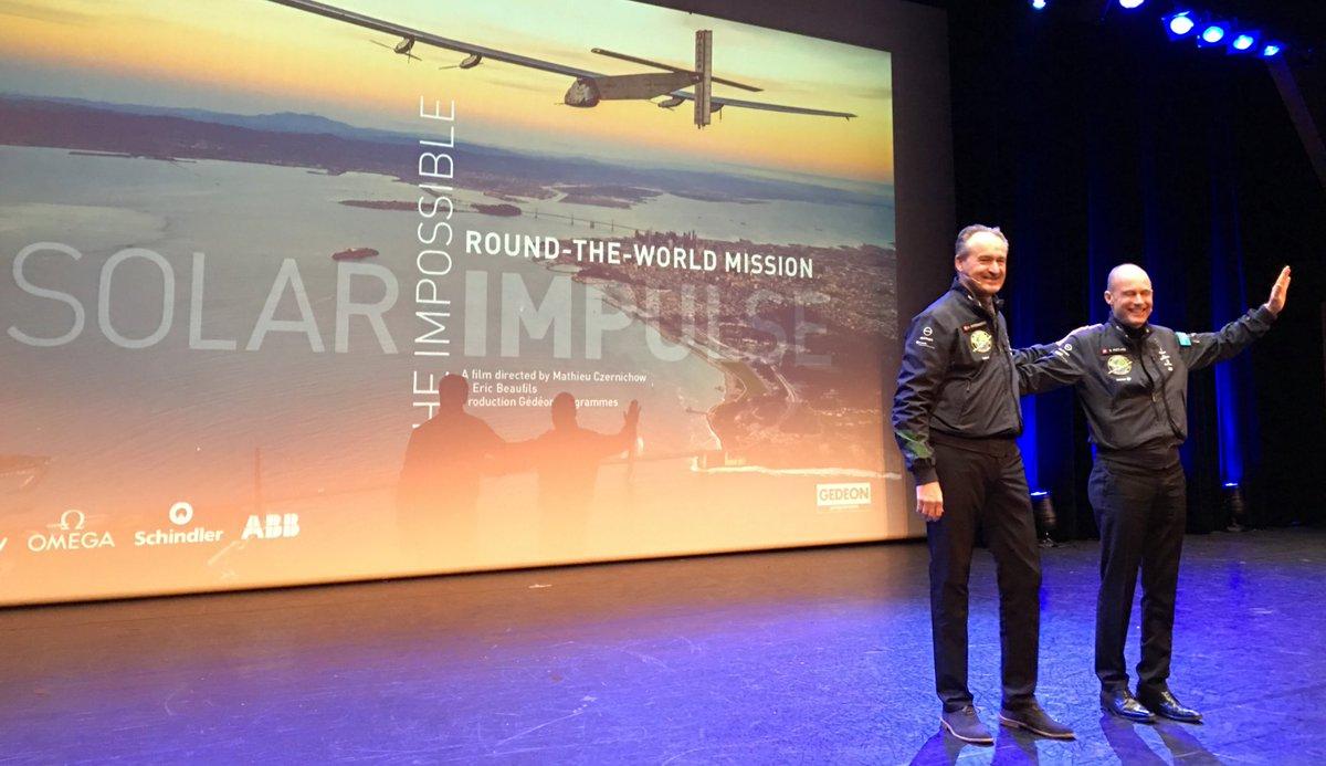 Photo: Twitter Solar Impulse