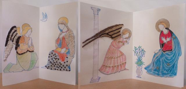 3. Annonciations inspirees de Luca della Robbia et de Fra Angelico ©TermedMonaco
