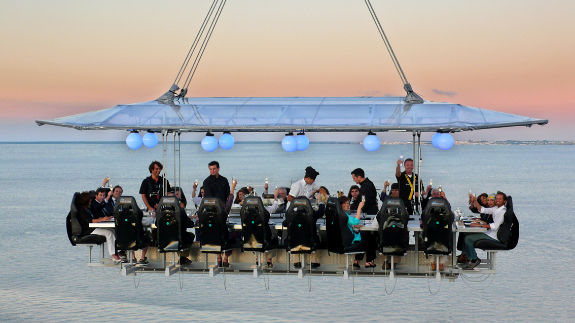 Dinner in the Sky Monte-Carlo