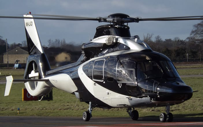 Eurocopter EC155 Helicopter. Photo: James
