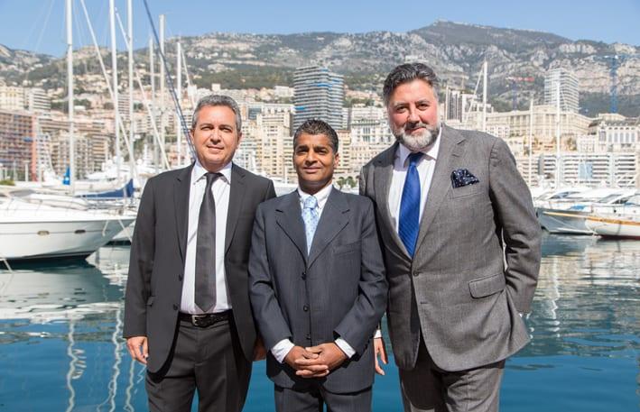 Top Marques Directors Mederic Del Monaco, Manoj Bairstow and Steven Saltzman
