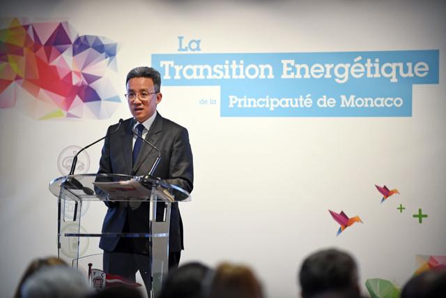 Jean-Luc Nguyen, Director of the Mission for Energy Transition Photo: © Manuel Vitali/Direction de la Communication