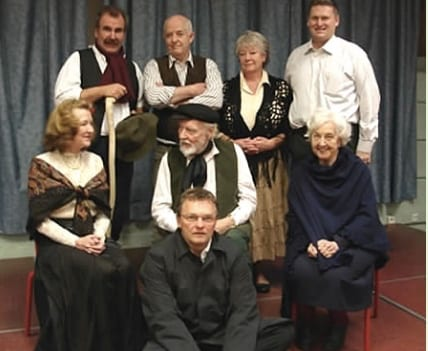 A past Monaco-Ireland Arts Society production included an evening with extracts from four of Synge's most well-known plays