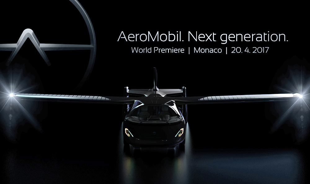 AEROMOBIL's flying supercar will be unveiled at the inauguration of TOP MARQUES