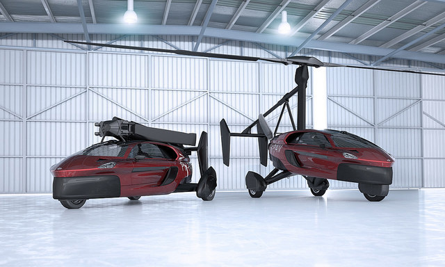 PAL V Liberty, the world's first commercial flying car with a retractable rotor