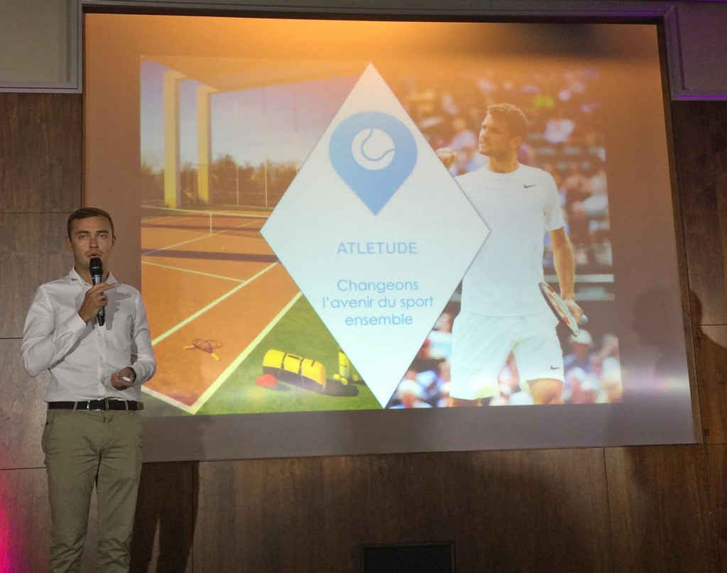 The winner of the Startup Weekend 2017 was the group Atletude – the Airbnb for tennis court owners and tinder for tennis players – which will receive marketing and business support over the next year.