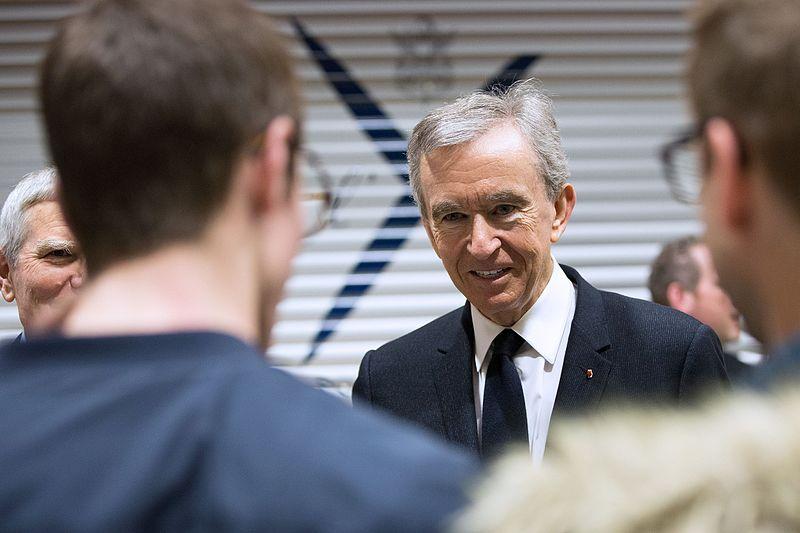 Bernard Arnault. Photo: Jérémy Barande