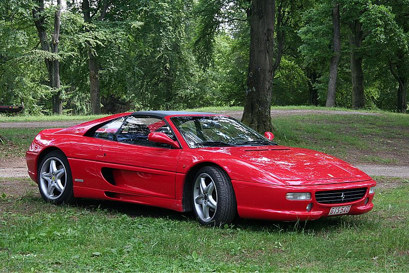 A Ferrari F355 will be at auction. Photo: Lothar Spurzem