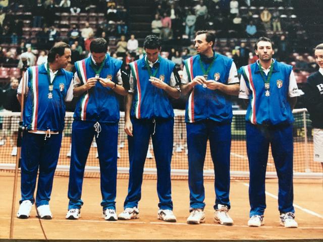 Win in Rome against Emilio Sanchez Vicario