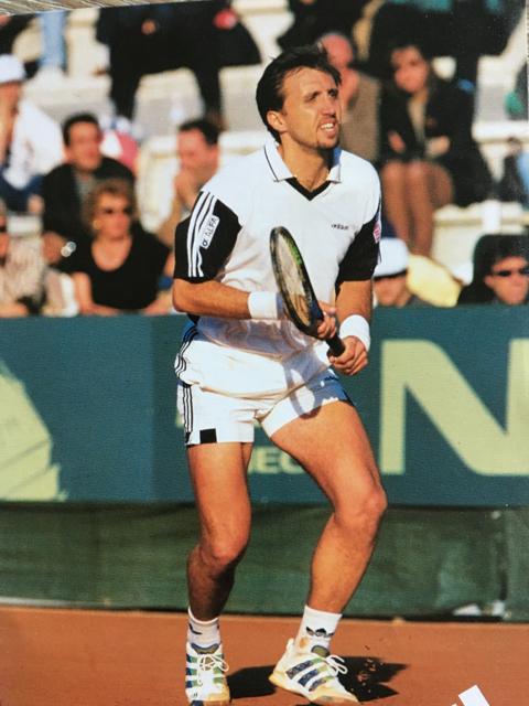 Davis Cup final Italy-Sweden 1998