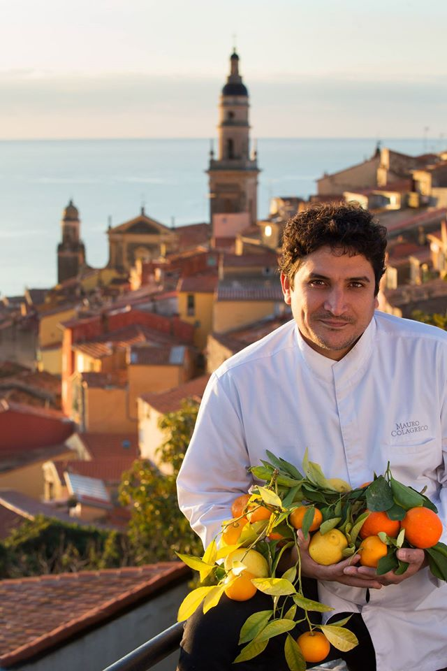 Mauro Colagreco. Photo: Facebook Restaurant Mirazur