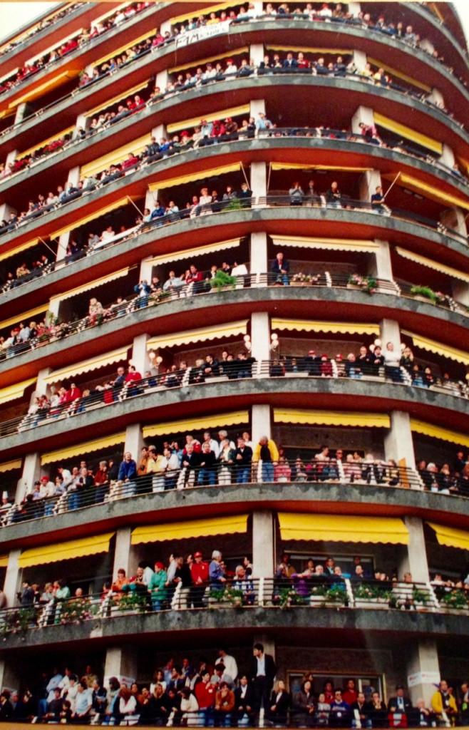 When balconies were really full