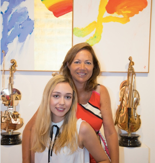 Caroline and Anette Birch (2017)