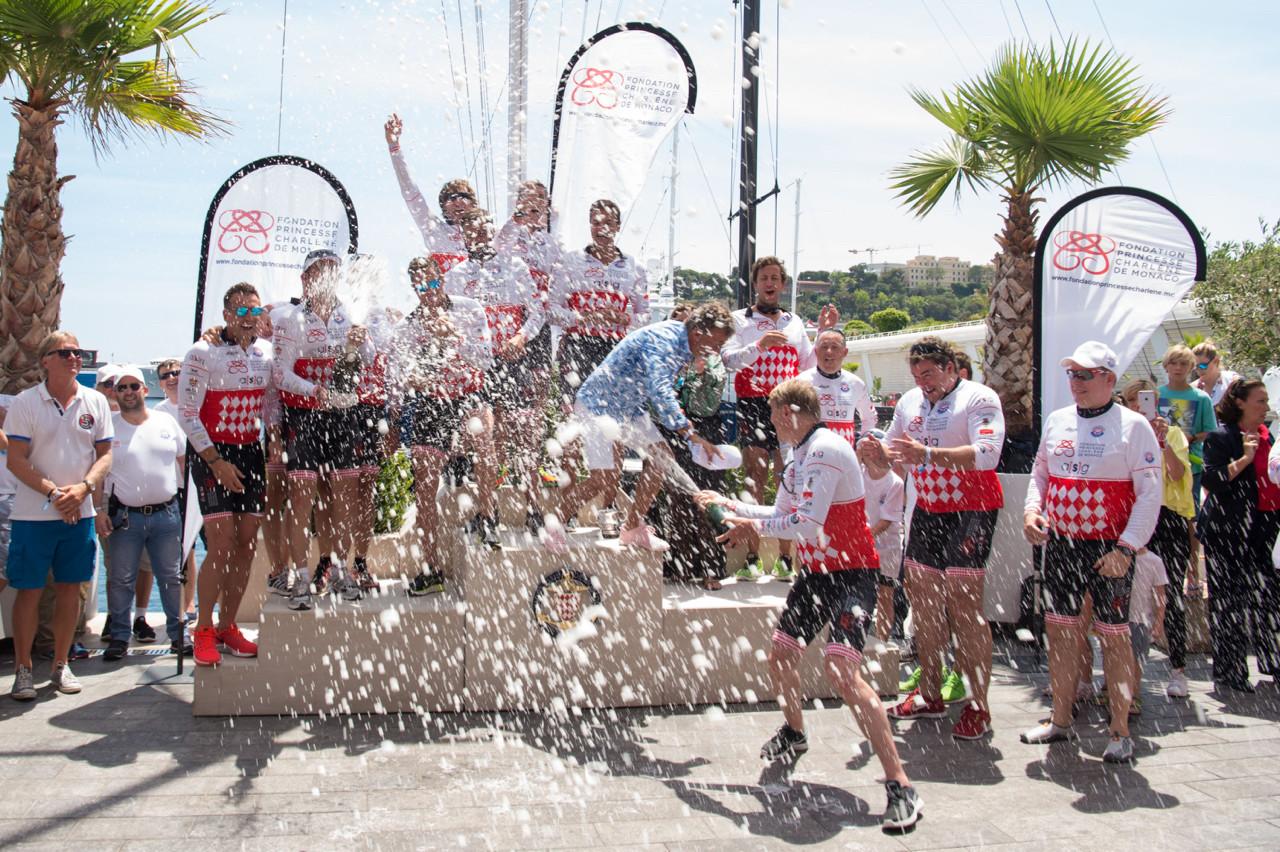 The winners Photo: Eric Mathon/Palais Princier