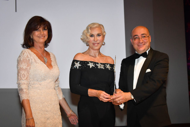 Made-in-Italy Fashion Award, Mireille Pietri, Chiara Boni and H.E. Cristiano Gallo @ Michael Alesi